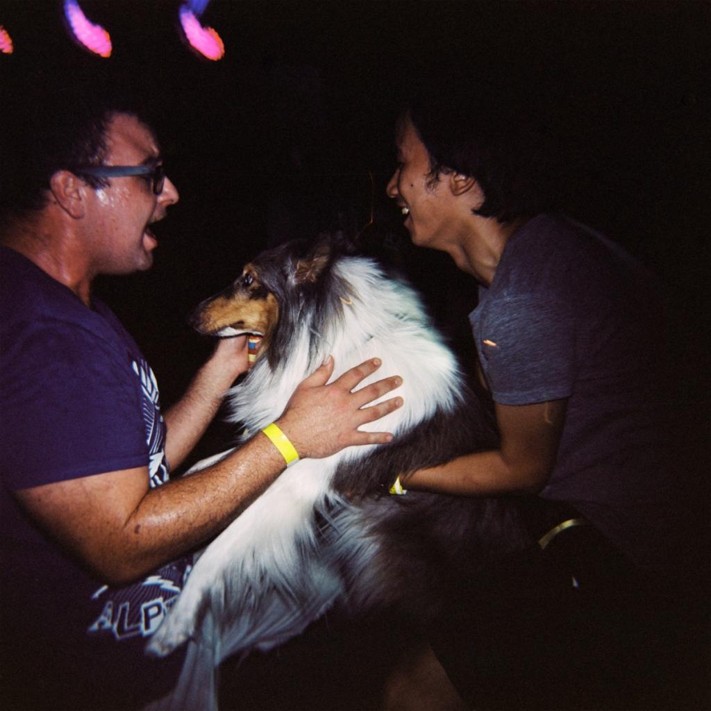 D-rad, a dog and a dancefloor. Hangzhou 2012.