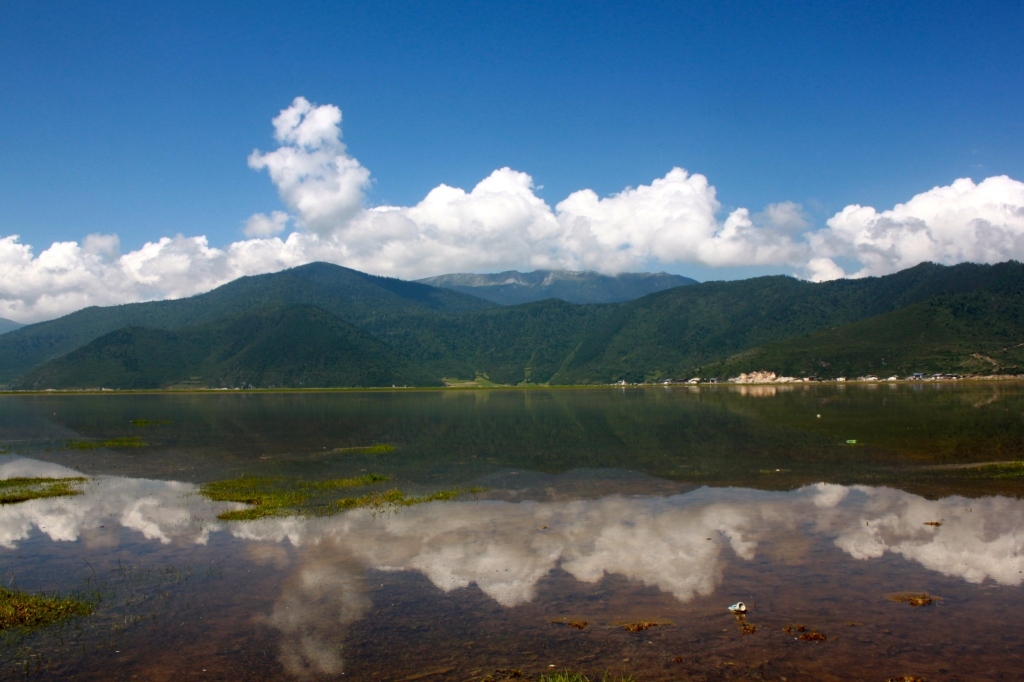 Taken in Shangri La, 香格里拉, Yunnan last summer. The town was renamed after the mystical land in James Hilton's novel in 2001 for tourism reasons. Originally known as Zhongdian [中甸], it continues to remain so on most public buses.