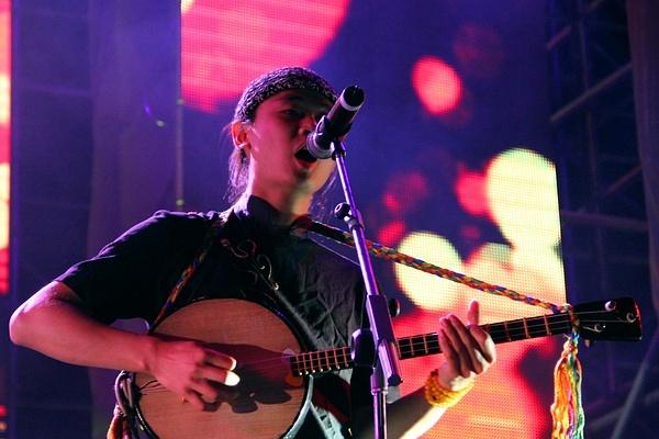 Xiao Bu Dian rocking it on stage last year