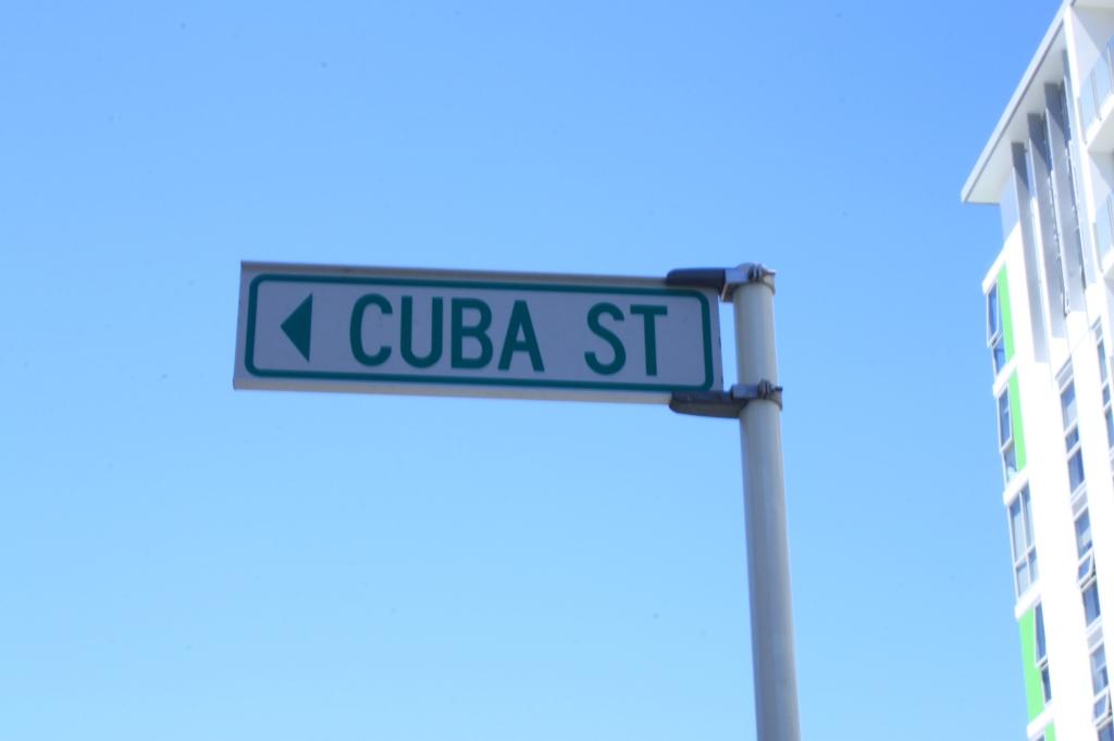 Cuba Street - the coffee and cafe hub of Wellington