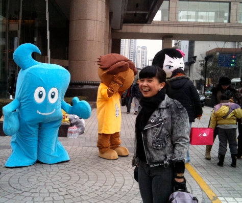 KAL feat. the Haibao mascot that covered Shanghai during the World Expo 2010. Photo courtesy of KAL.