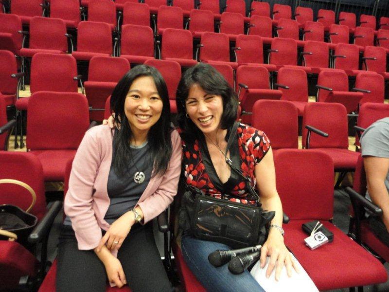 Renee and Lynda. Image from Radio New Zealand.