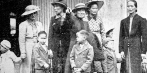 Helen's mother-in-law arrived on the same boat as these refugees in 1939. Image from New Zealand Herald.