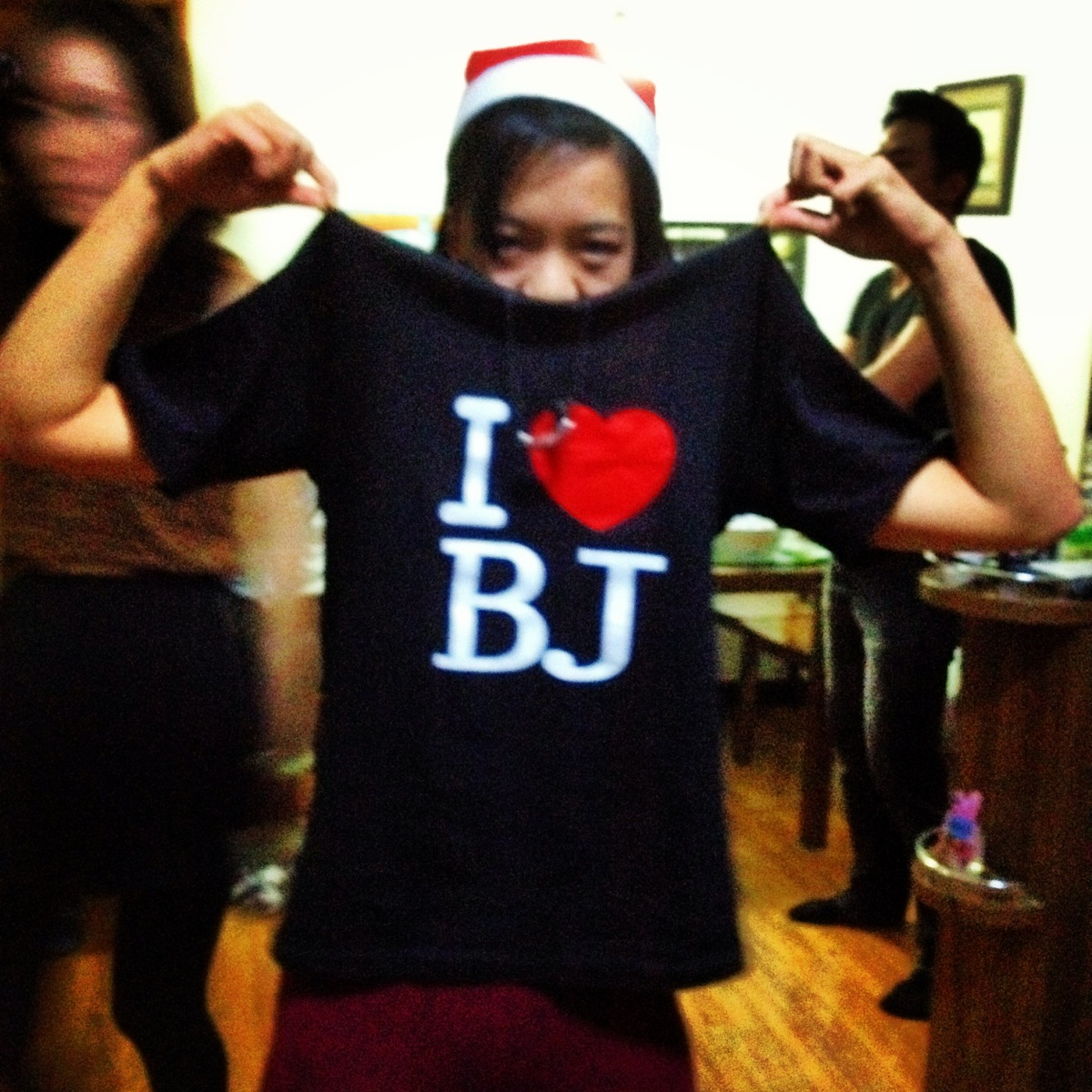 A shirt for all those who love BJ.