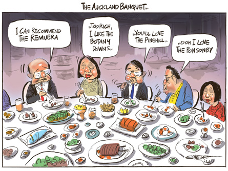 The Auckland Banquet, via NZ Herald.