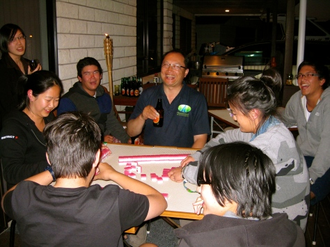 Kiwese and whanau VS. Meng Foon. Summer, 2010.