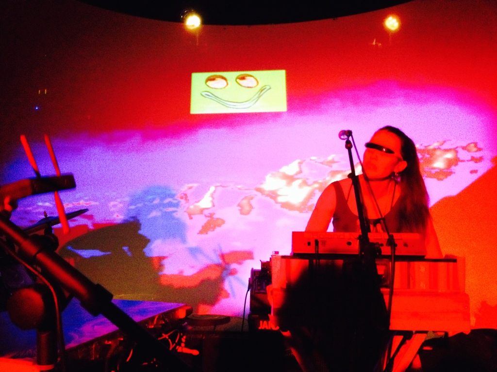 Orchestra of Spheres and Lady Lazer Light. Valhalla, June 2014.